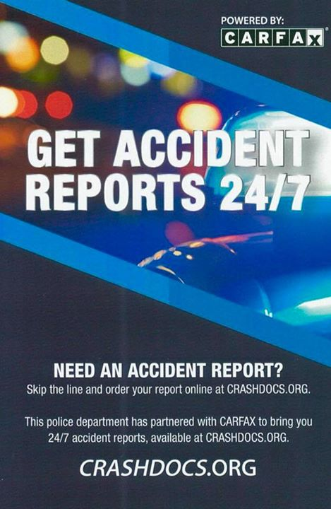 Any crash reports from January 1, 2018 forward are available